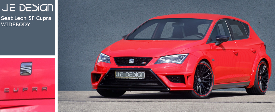seat leon 5f cupra style from je design. Black Bedroom Furniture Sets. Home Design Ideas