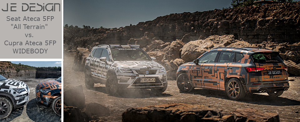 Cupra Ateca Widebody vs. Seat Ateca 5FP All Terrain