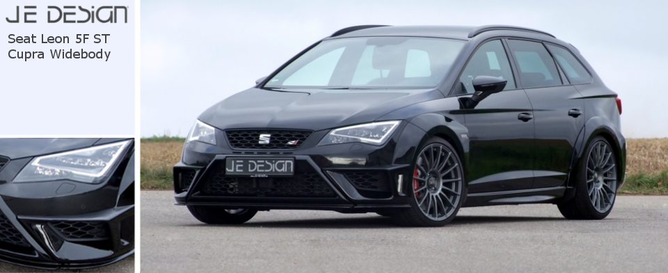 je design seat leon 5f st cupra widebody. Black Bedroom Furniture Sets. Home Design Ideas