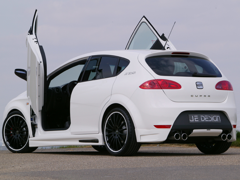seat leon 1p fr cupra styled by je design. Black Bedroom Furniture Sets. Home Design Ideas