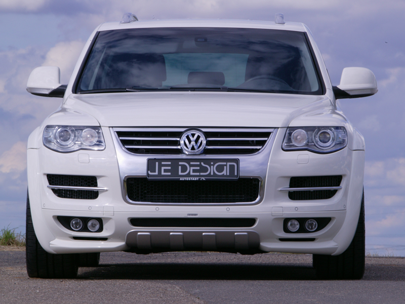 Touareg Facelift Conversion >> VW Touareg 7L facelift Widebody styled by JE Design
